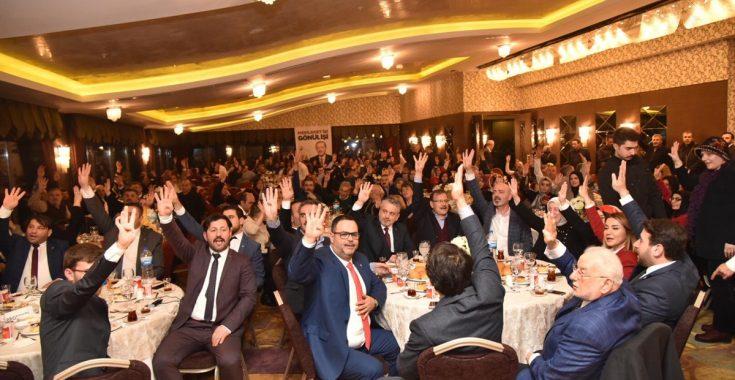 gemlik-ak-parti-birlik-yemegi Ak Parti Birlik Beraberlik Yemeği Coşkuyla Yapıldı