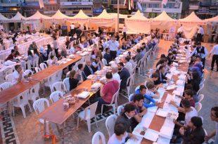 Yıldırım Holding Geleneksel Halk İftarına Devam Ediyor