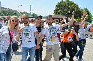 Gençlik Koşusu'na renkli final