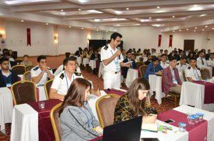 MYO Denizcilik Öğrencileri 20. Denizkızı Kongresine Katıldılar