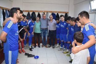 Körfezspor'dan Şampiyonluk Rakibine 6 gol