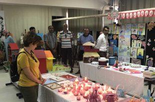Şehit Öğretmen Etem Yaşar İlkokulunda Yılsonu Sergisi Açıldı