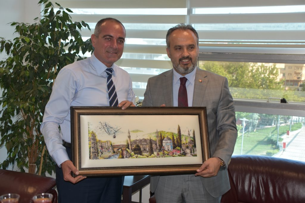 Aktaş'ın Sertaslan'ı ziyaretinde birlik ve beraberlik mesajları