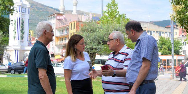Başkan Serintürk, Demirsubaşı mahallesinin ihtiyaçlarını dinledi