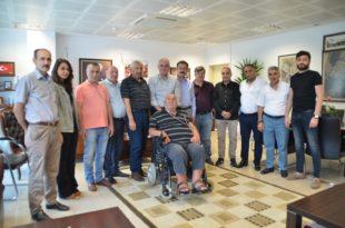 Erzurumlular'dan Başkan Sertaslan'a ziyaret