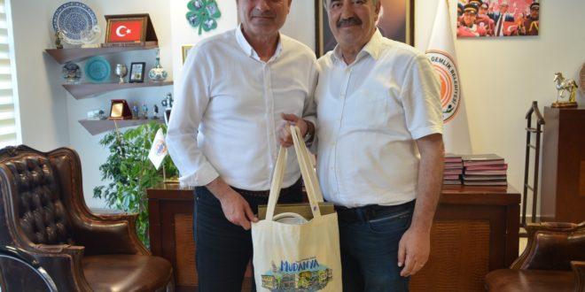 Gemlik'e komşu belediyeden destek ziyareti