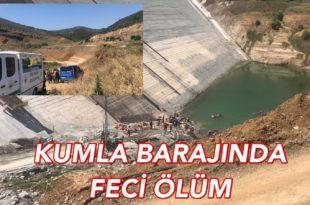 Gemlik'te Barajda Feci Ölüm