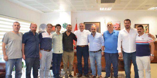 Gemlikspor'dan Başkan Sertaslan'a ziyaret