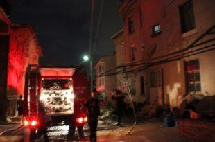 Umurbey'de Çatı Yangını Korkuttu