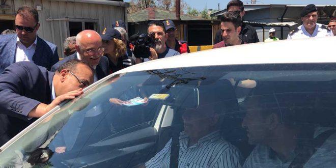 Gemlik'te İçişleri Bakan Yardımcısı Erdil, trafiği denetledi