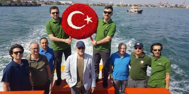 Gemlikle Birlikte Kılavuz Kaptanlar Haftası tüm Türkiye'de törenlerle kutlandı