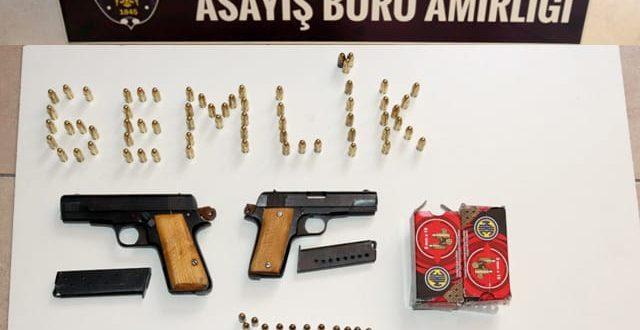 Gemlik'te silah operasyonu