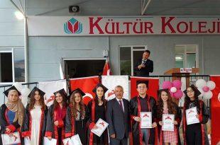 Kültür Kolejinden Mezuniyet Töreni