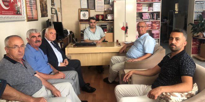 Çetinkaya'dan Gazetemize Ziyaret