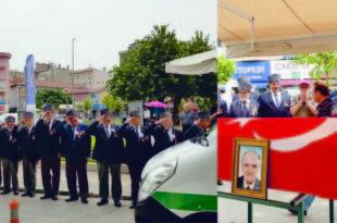 Kore Gazisi Sarı Törenle Uğurlandı