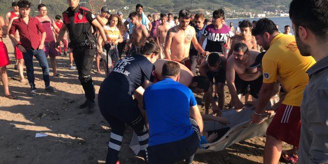 Suriyeli genç Kumsaz da boğuldu...
