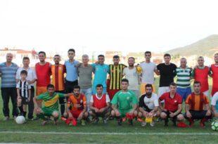 GESYAD 5.Geleneksel Bilgin Batıray -Sümer Atasoy Veteran Futbol Turnuvası Başladı