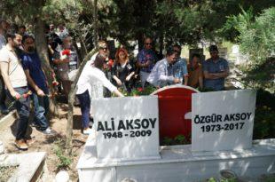 Özgür Aksoy Mezarı Başında Anıldı