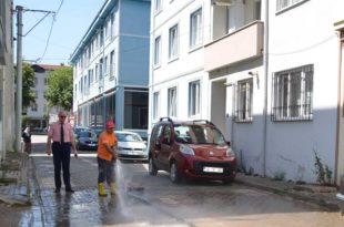 Gemlik'in tüm sokakları pırıl pırıl