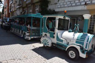 Kumla'da gezi treni hizmete başladı