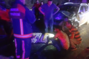 Gemlik'te kaza 1 ölü 11 yaralı