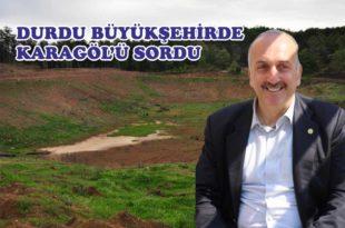 MHP Karagöl Sorununu Büyükşehir'e Taşıdı