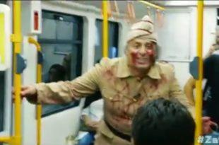 Bursa'da zafer ruhu metroda yaşatıldı