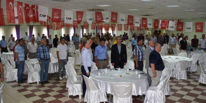 CHP GEMLİK GENİŞLETİLMİŞ ÖRGÜT TOPLANTISINDA BULUŞTU