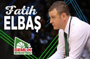 Gemlik Basketbol Fatih Elbaş ile anlaştı