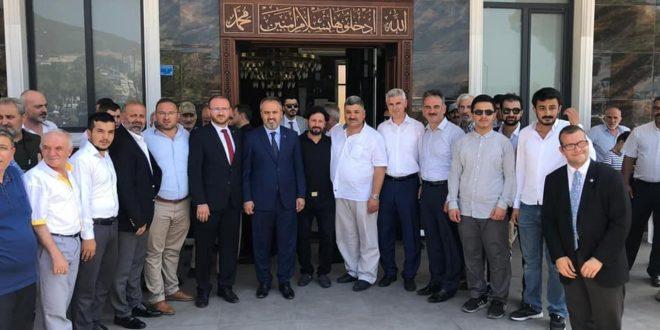 Hacı Osman ve Hayriye Okumuş Camii İbadete Açıldı