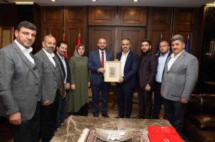 Gemlik Ak Parti'den Başkan Aktaş'a Ziyaret
