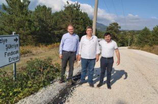 Gemlik Köy Yollarına Büyükşehir'den Soğuk Asfalt