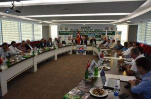 Ticaret ve Sanayi Odası Meclisi, Belediye Başkanı Mehmet Uğur Sertaslan'ı ağırladı