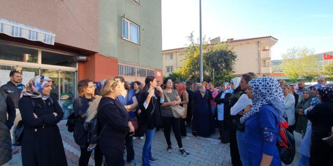 Körfez Okulu Velilerinden Taşınma Tepkisi