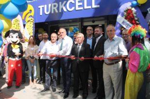 Coşkunlar Turkcell İletişim Merkezi Açıldı