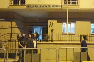 Gemlik'te Belediyenin camını kıran zanlı tutuklandı