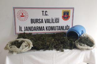Kumla'da 10 Kilo Uyuşturucu Ele Geçirildi