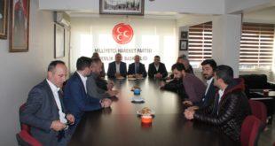 Gemlik Kaymakamından MHP'ye Ziyaret