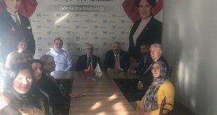 Kaymakam Yaşar Dönmez'den İyi Parti'ye Ziyaret