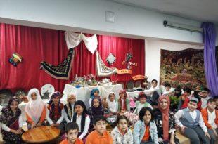 Borusan İlkokulunda Milli Kültür Sergisi