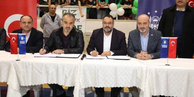 Gemlik Basketbol'a Büyükşehir'den büyük destek