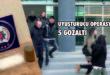 Gemlik ve Bursa'da uyuşturucu operasyonu: 5 şüpheli adliyede