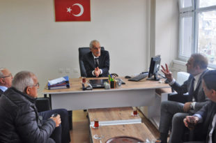 TSO'dan Milli Emlak Müdürü Kozan'a ziyaret