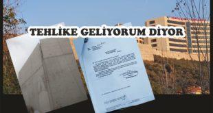 Hastane İstinat Duvarları Tehlike Saçıyor