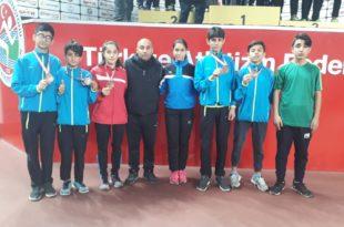 Belediyespor'dan atletizmde ulusal başarı