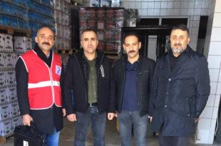 Kızılay ve Zeytinhali Esnafı Elazığ Depremi İçin Çalışıyor