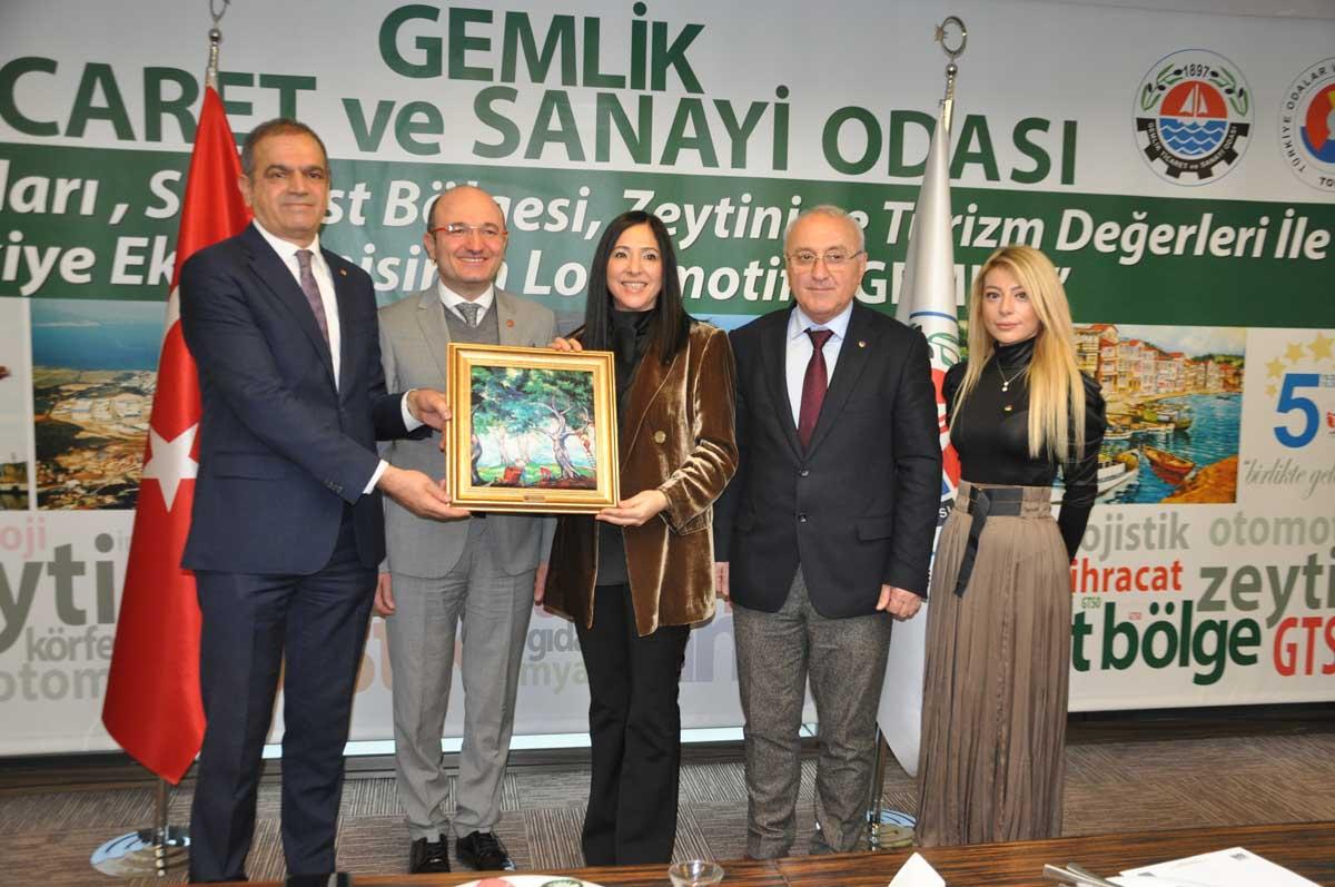 Bursalı Kadın Girişimciler Gemlik'te biraraya geldi