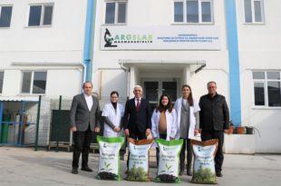 Marmarabirlik organik gübre üretimine başladı