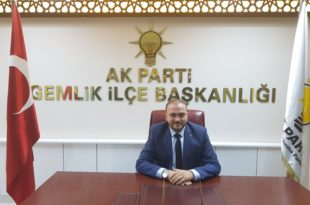 AK Parti Gemlik'te Yiğit İle Devam Dedi