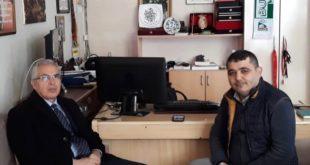 Kaymakam Yaşar Dönmez Gazetemizi Ziyaret Etti